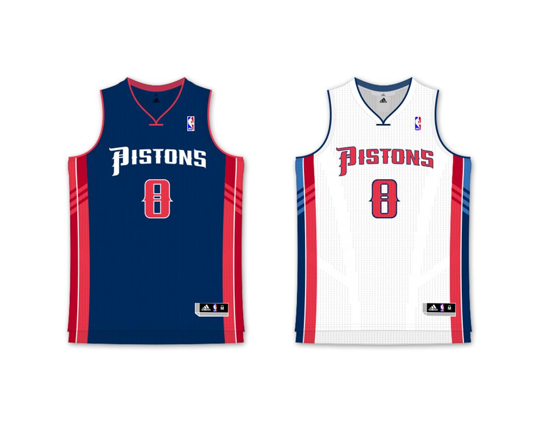 quality design 82724 4599c Detroit Pistons Concept on Behance