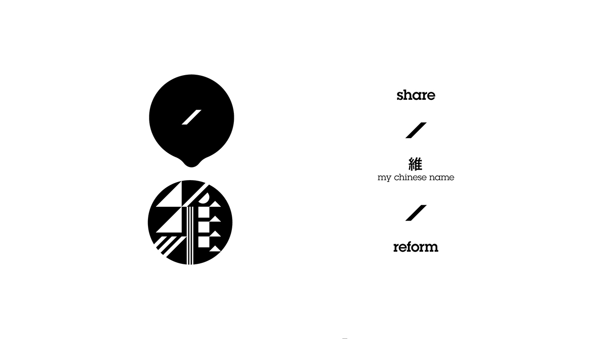 stamp  chinese name mark black and white pattern tattoo Stationery Form graphic personal branding Hong Kong