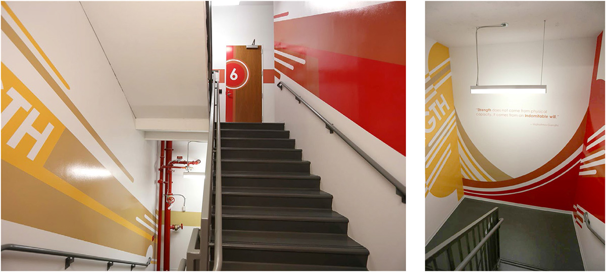 Fitness Stairwell: Design Intent