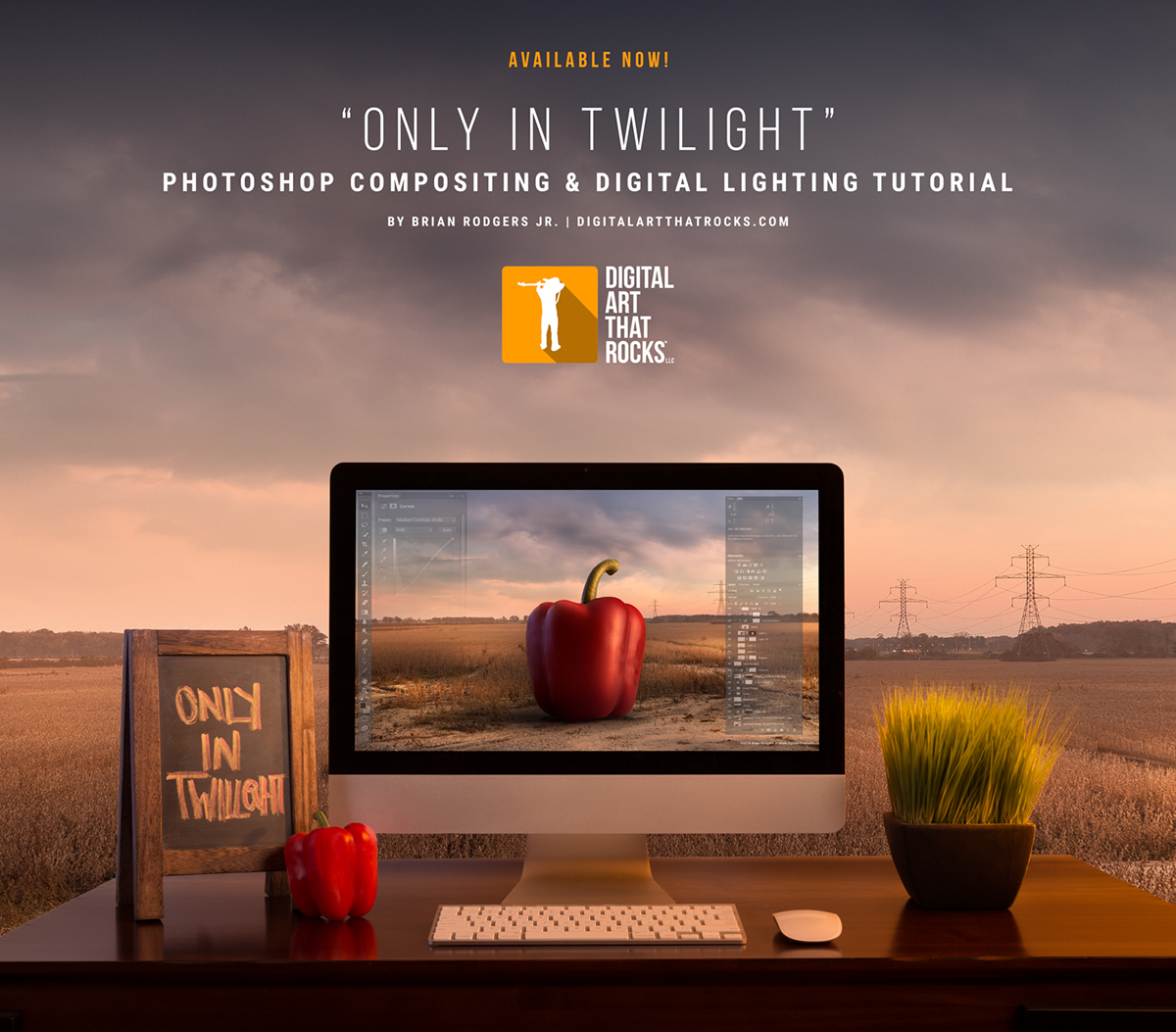 Only in twilight photoshop compositing tutorial on behance learn how to create stunning soft light composite imagery in photoshop tutorial by commercial photographerdigital artist brian rodgers jr of digital art baditri Gallery
