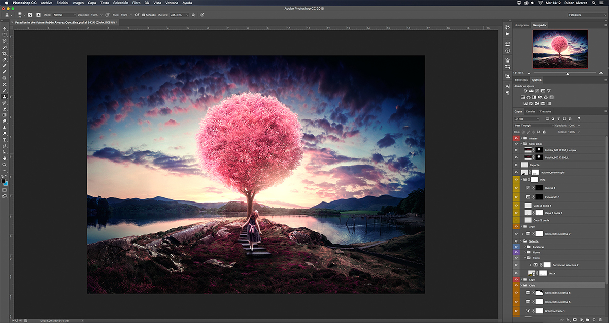 Adobe Photoshop CC 2015 Splash Screen Image on Behance