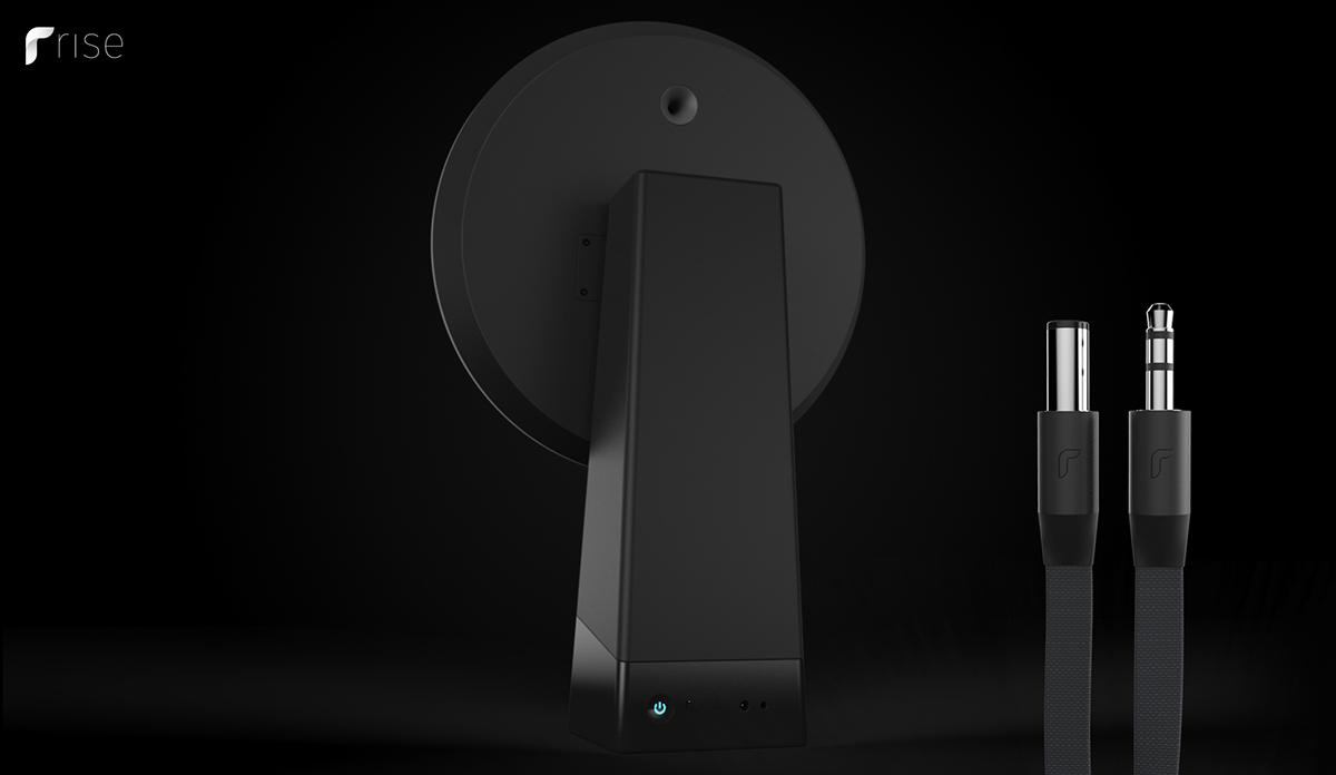 speakers sound concept