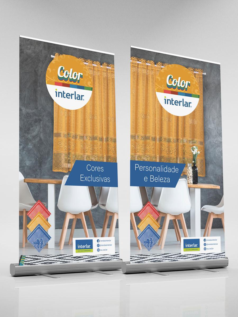 banner design interlar logo marca brand cycero Classic TNC