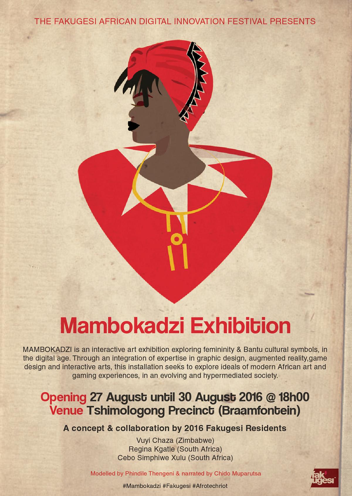 Mambokadzi african playing cards on behance exhibition biocorpaavc