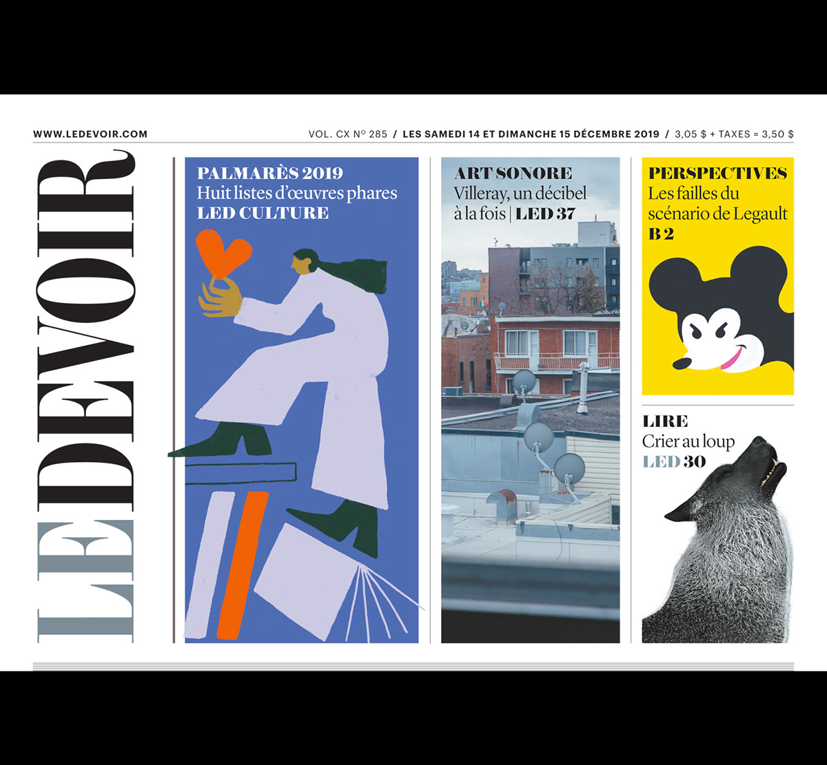 arts and culture Best of culture editorial Holiday ILLUSTRATION  le devoir palmares