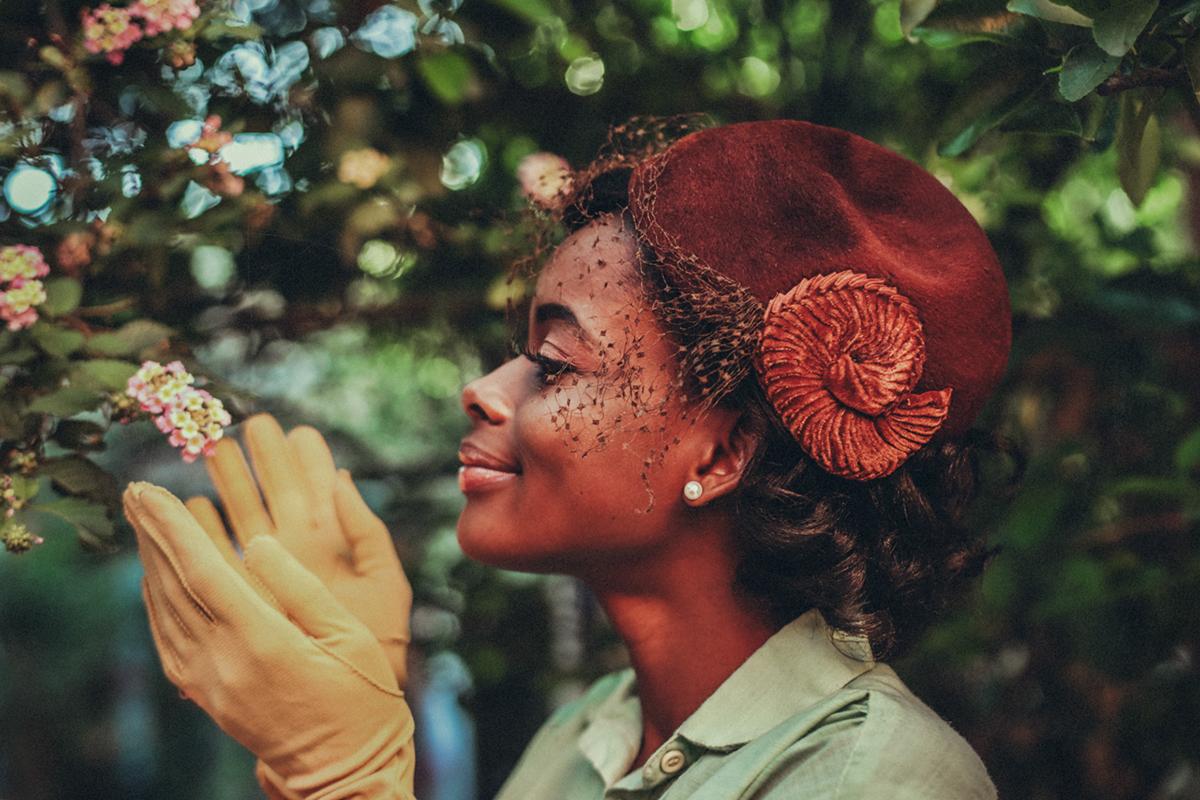 ninasimone vintage 40s Fotografia mexico black africa Nature