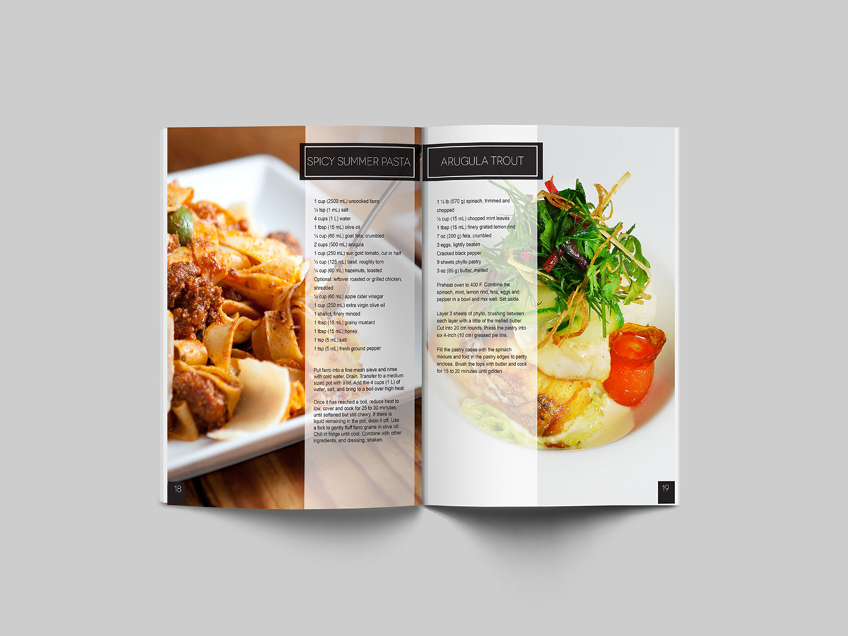 Eat Vancouver Magazine Design On Behance