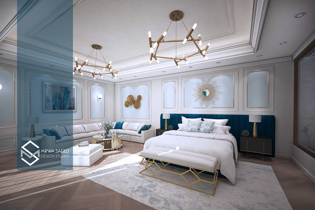 NEO Classic Master Bedroom on Pantone Canvas Gallery