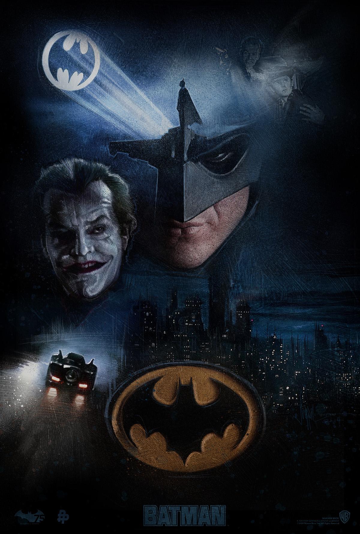 Batman 1989 On Behance
