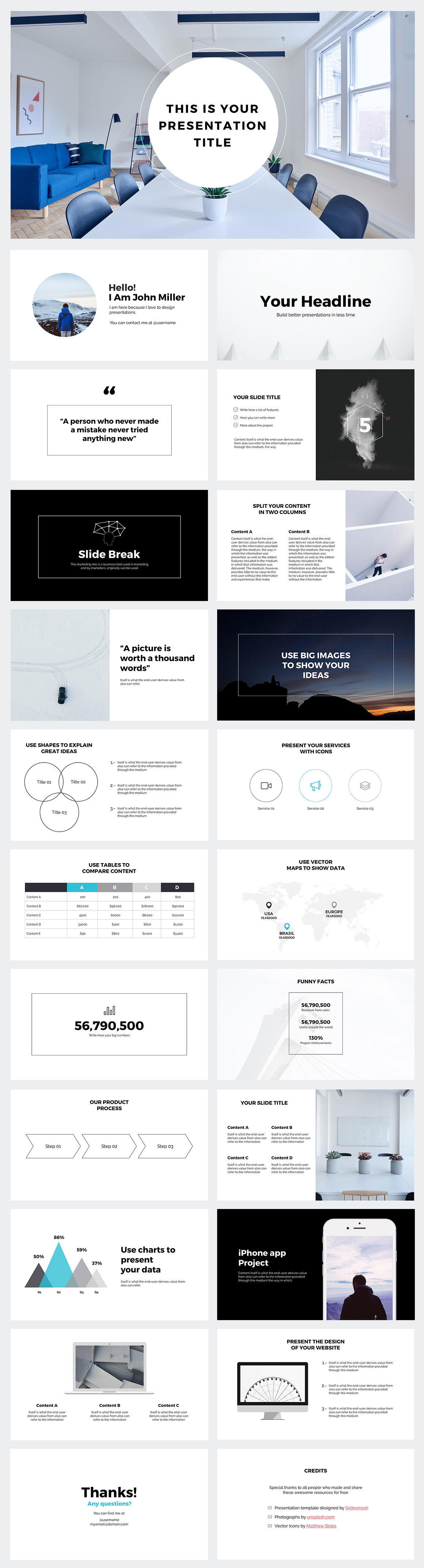 Free business strategy powerpoint template on behance download this free business strategy powerpoint template to use in your project all elements on this template are fully editable so you can customize your wajeb Choice Image