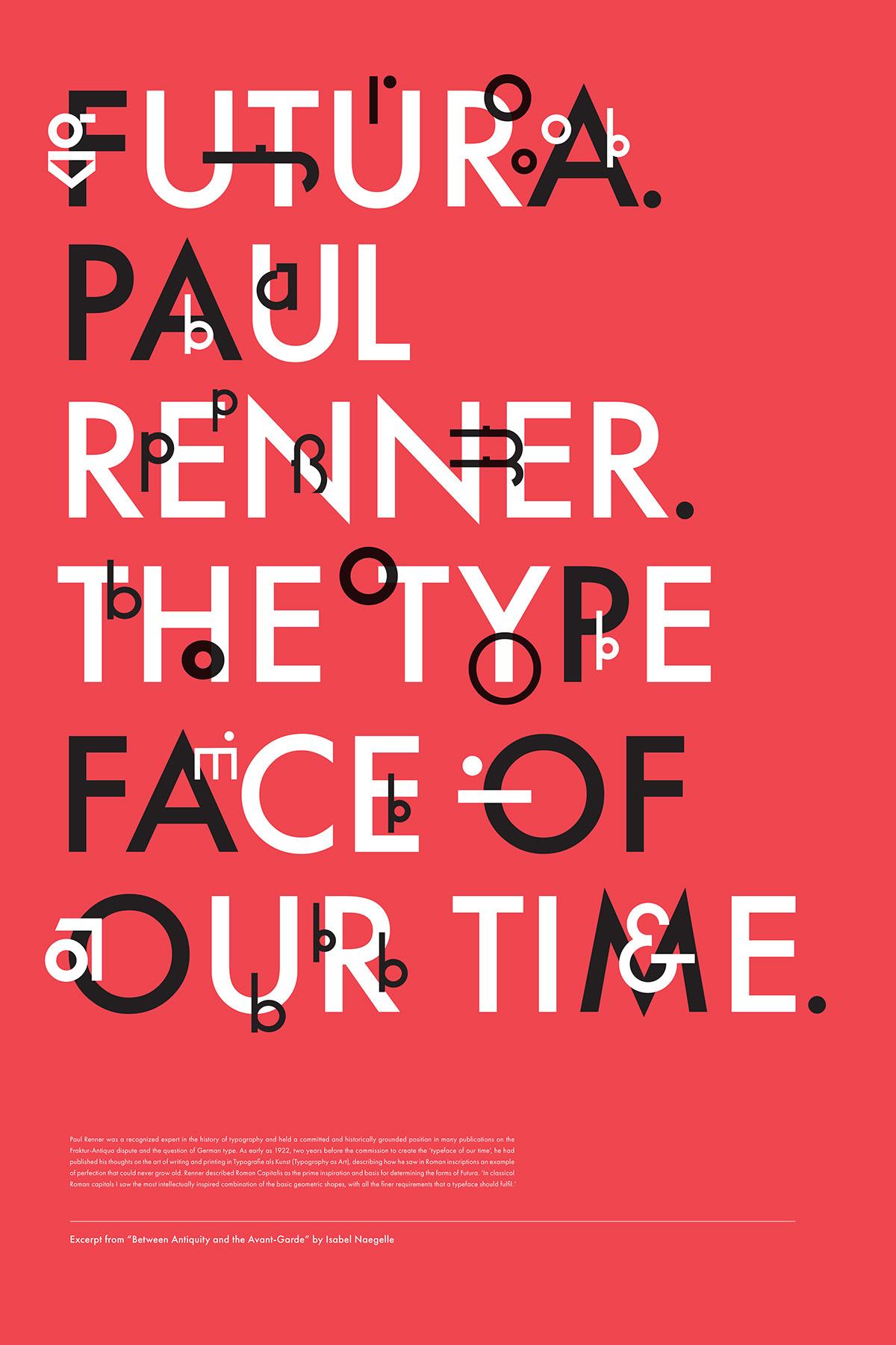 jazz jazz music Typeface type poster type Futura Futura type poster futura poster paul renner