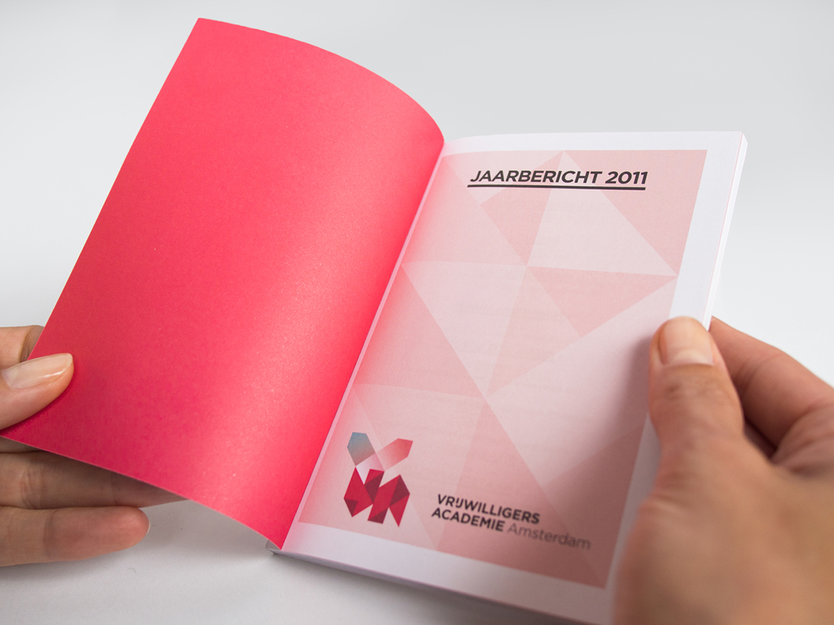 annual report  brand identity letters alphabet book design Rotterdam amsterdam origami  grid