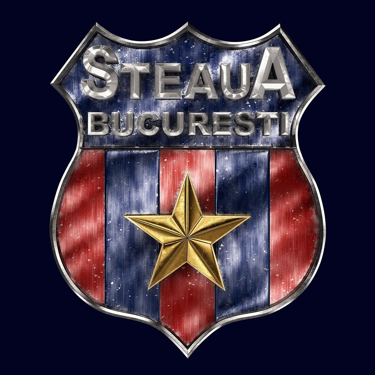 Talisman & Co.   FC Steaua București Badge   Andrei Lacatusu