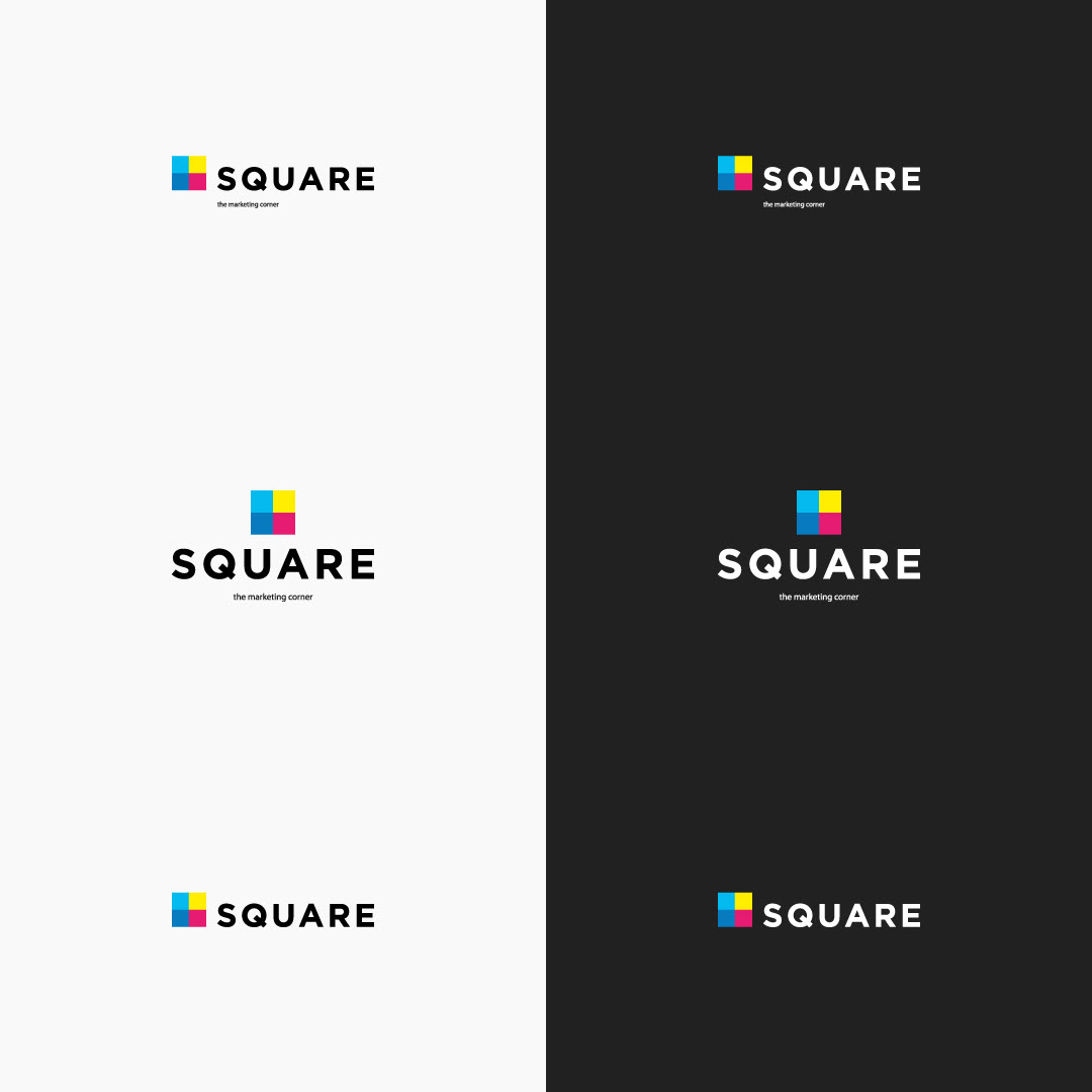 how to use logo square payoff