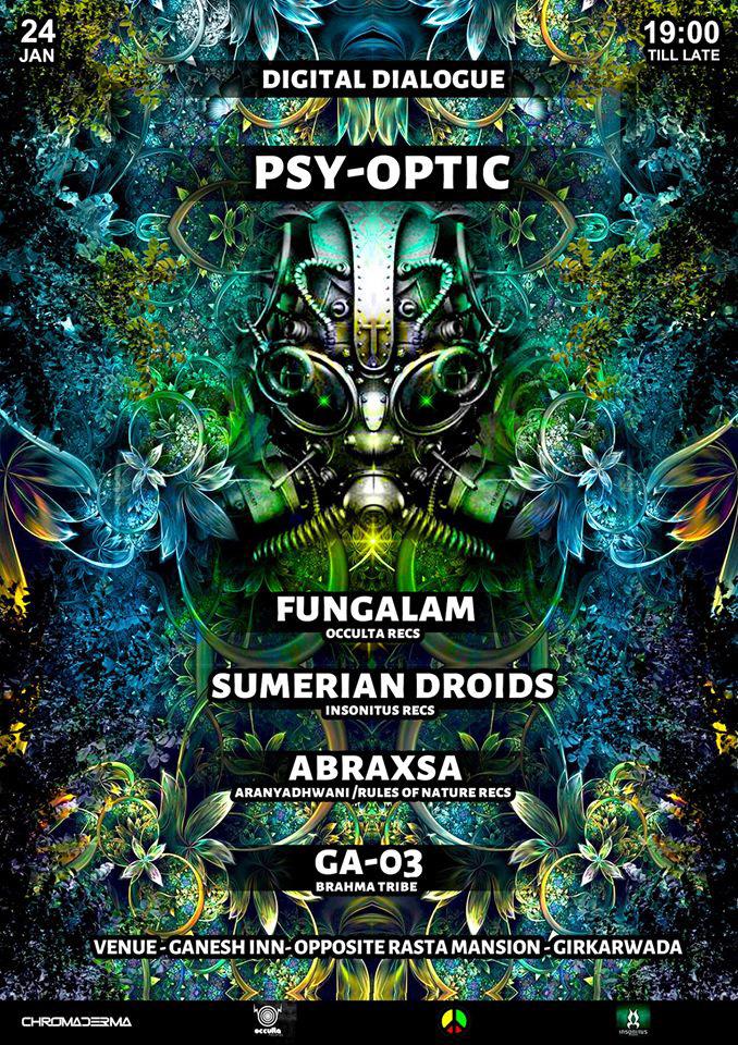 digitalart psychedelic pychedelicart