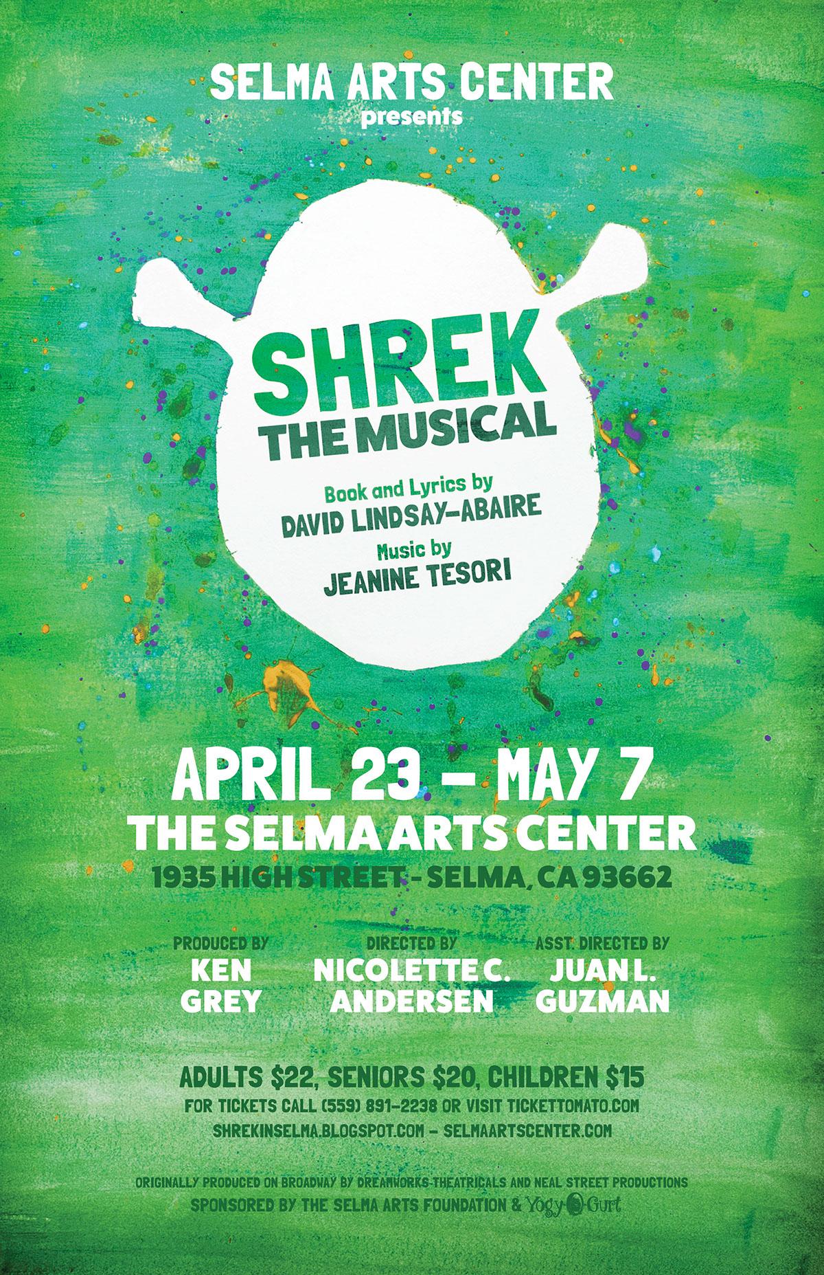 Shrek The Musical On Behance