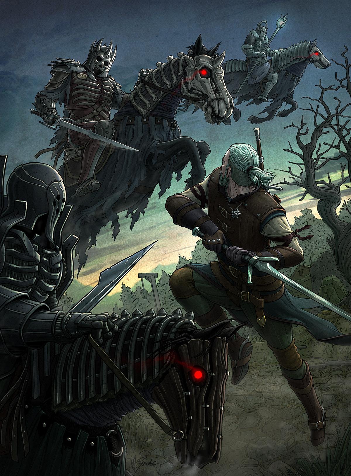 Witcher 3 Wachs
