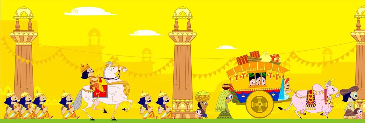 Ramayana Story book on Behance