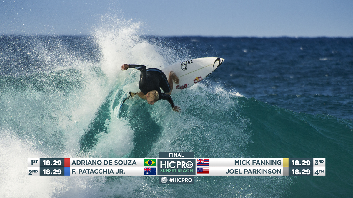 Birgar Olsen HIC Pro Vans Surf surfing