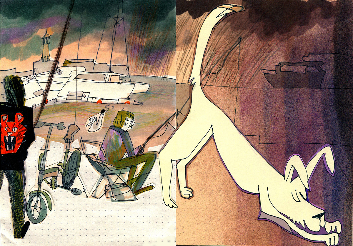 Drawing  handdrawn ILLUSTRATION  sketch sketchbook sketching sochi travelbook traveldrawing Travelguide