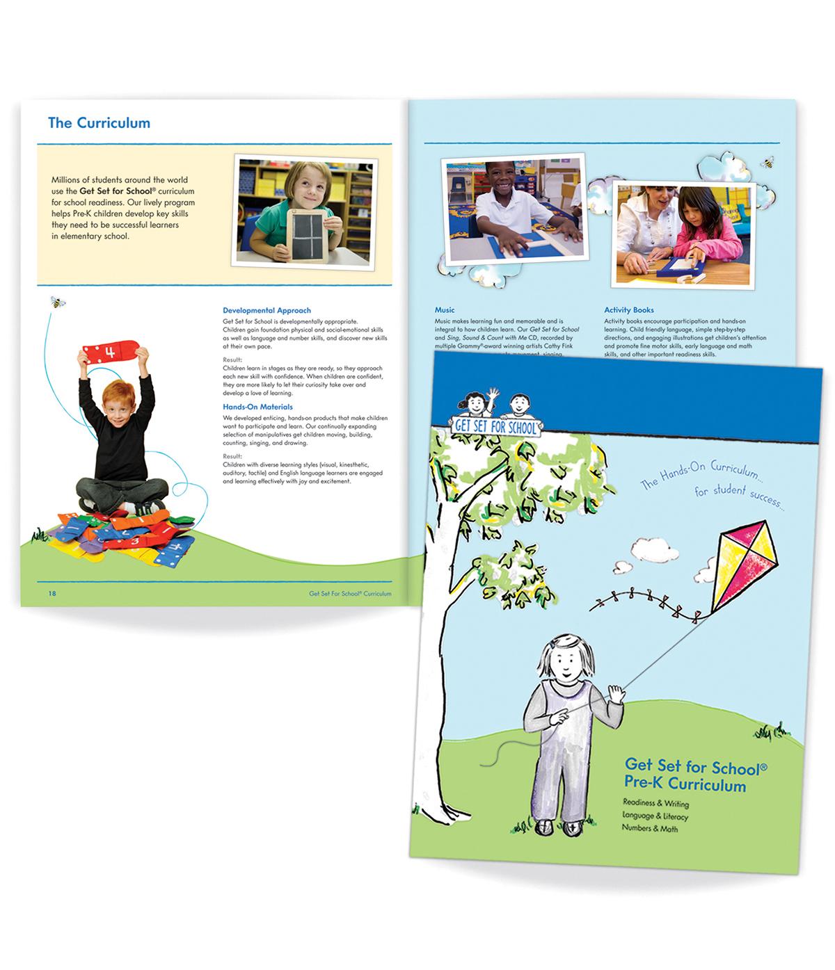 Get Set For School Pre K Curriculum Folder On Behance