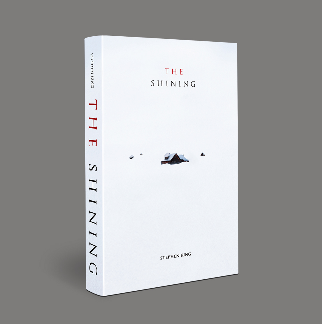 School Bookcover Design: THE SHINING BOOK COVER DESIGN On Behance