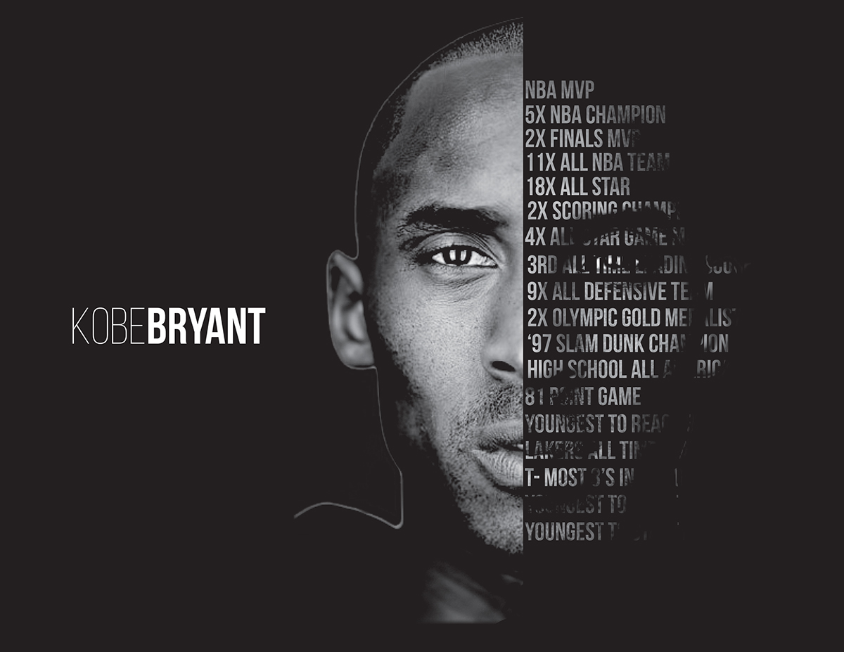 Kobe Bryant Poster On Behance