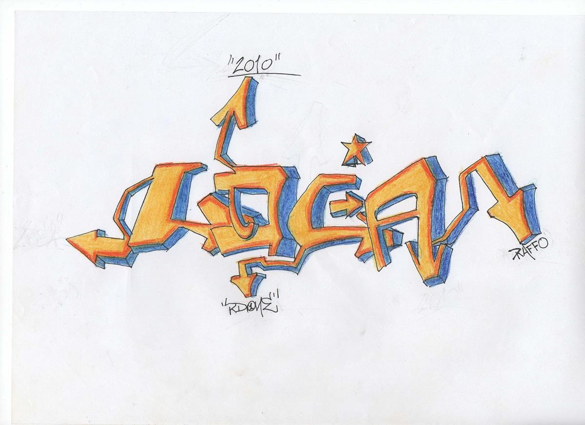 Day Drawing  Graffiti pen sketch wall writing  disney donald duck mickey mouse