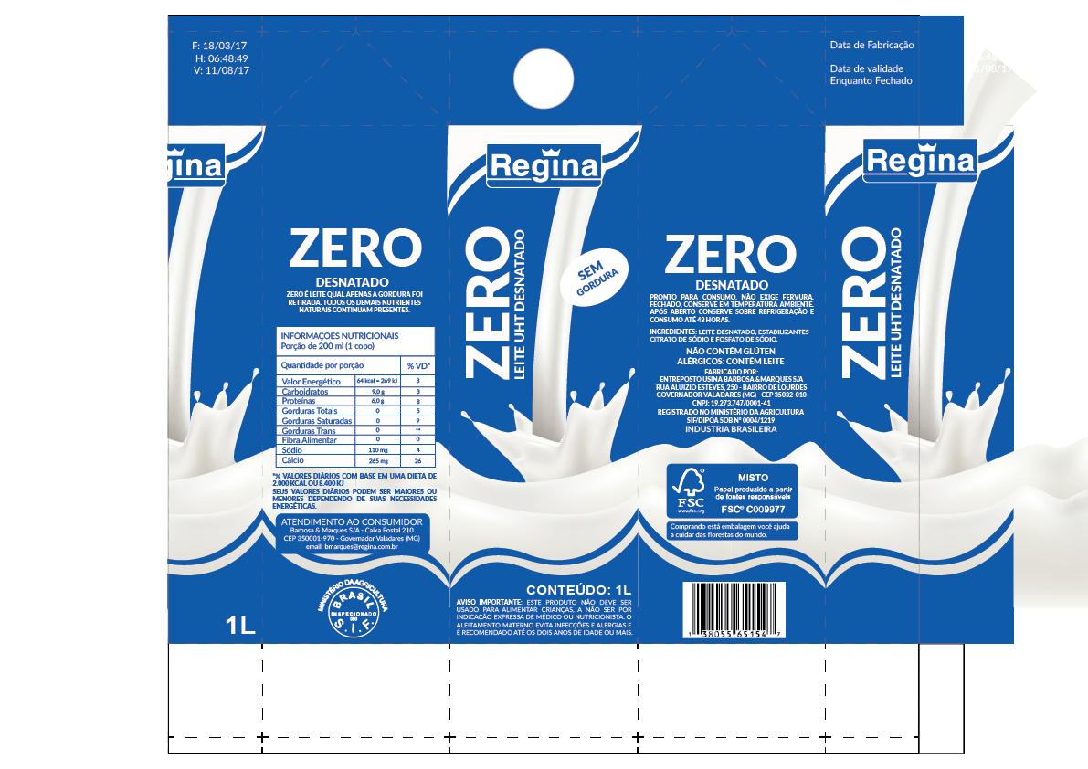Redesign Embalagem De Leite Regina On Behance