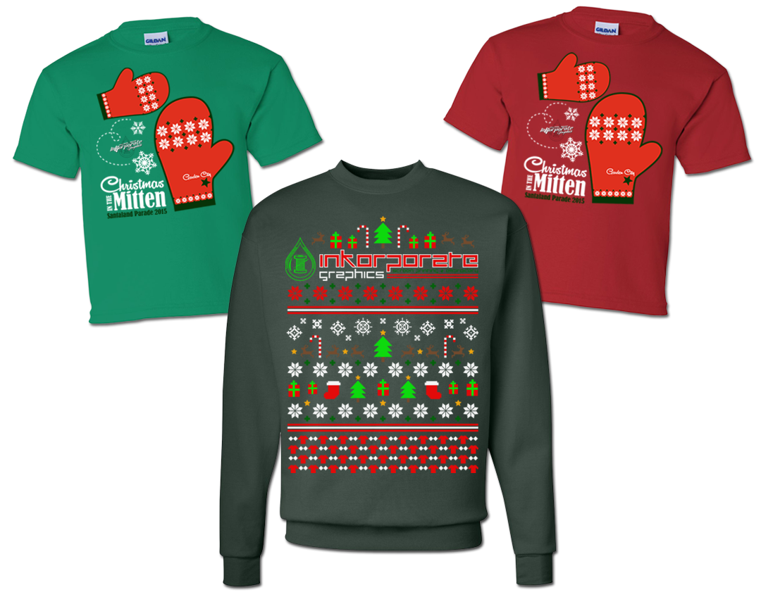 Ugly Christmas Sweater & Christmas in the Mitten on Behance