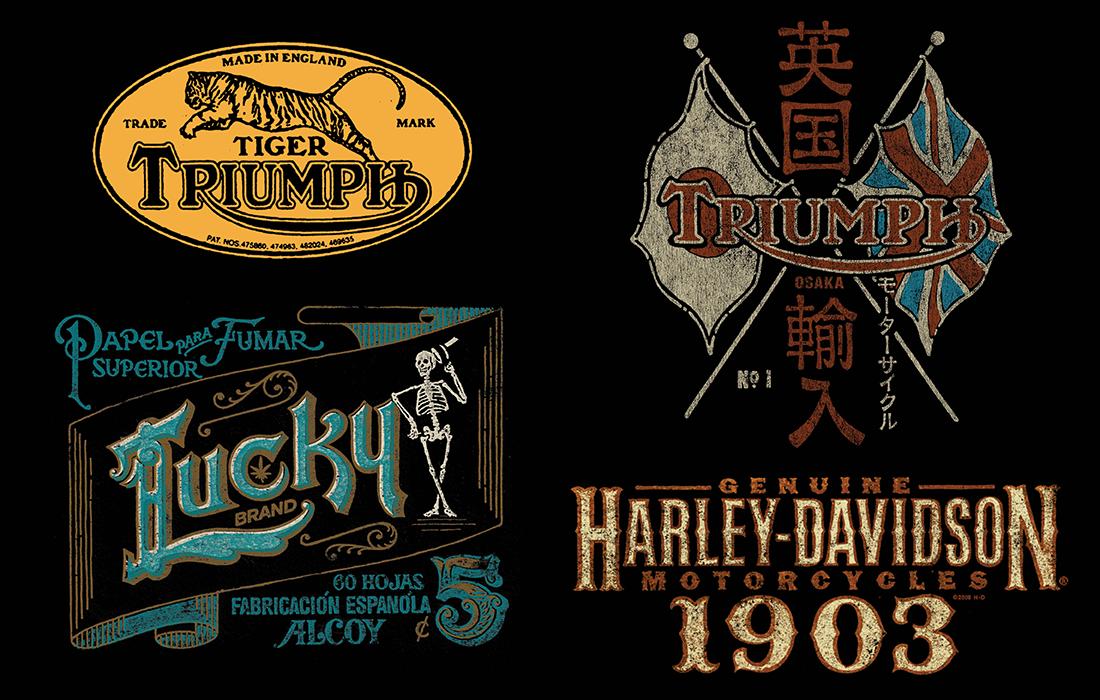 Adobe Portfolio lucky brand vintage americana Denim