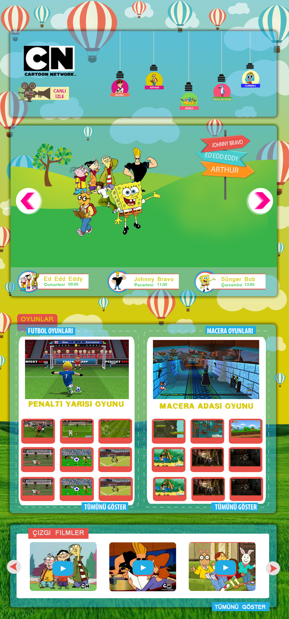 Cartoon Network Ui Ux Redesign On Behance