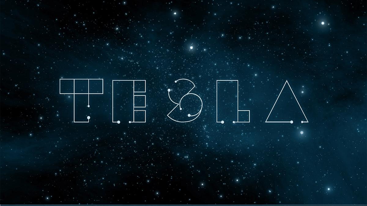 Tesla font free