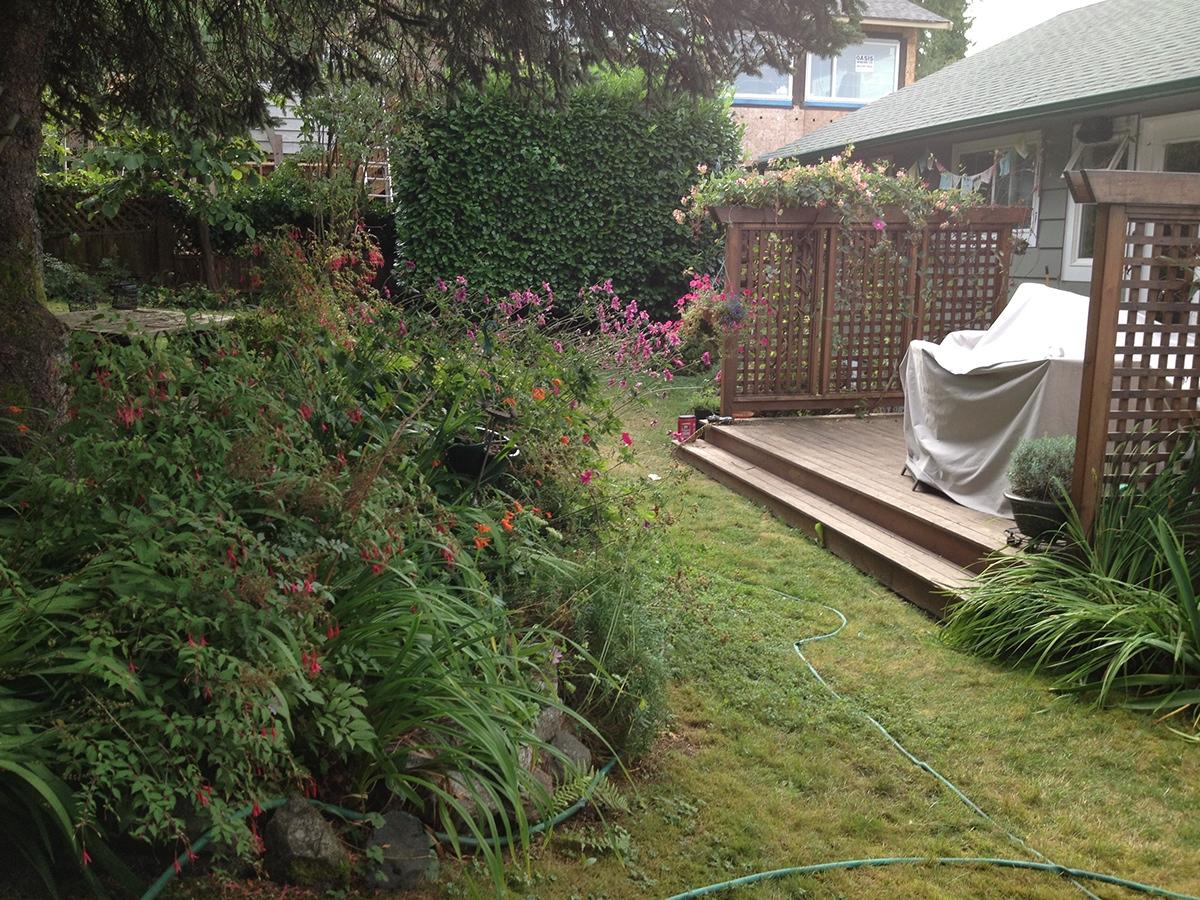 Garden redesign project management on behance for Garden redesign