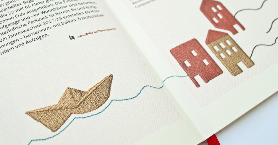 Corporate Design geschäftsbericht Grafikdesign printdesign