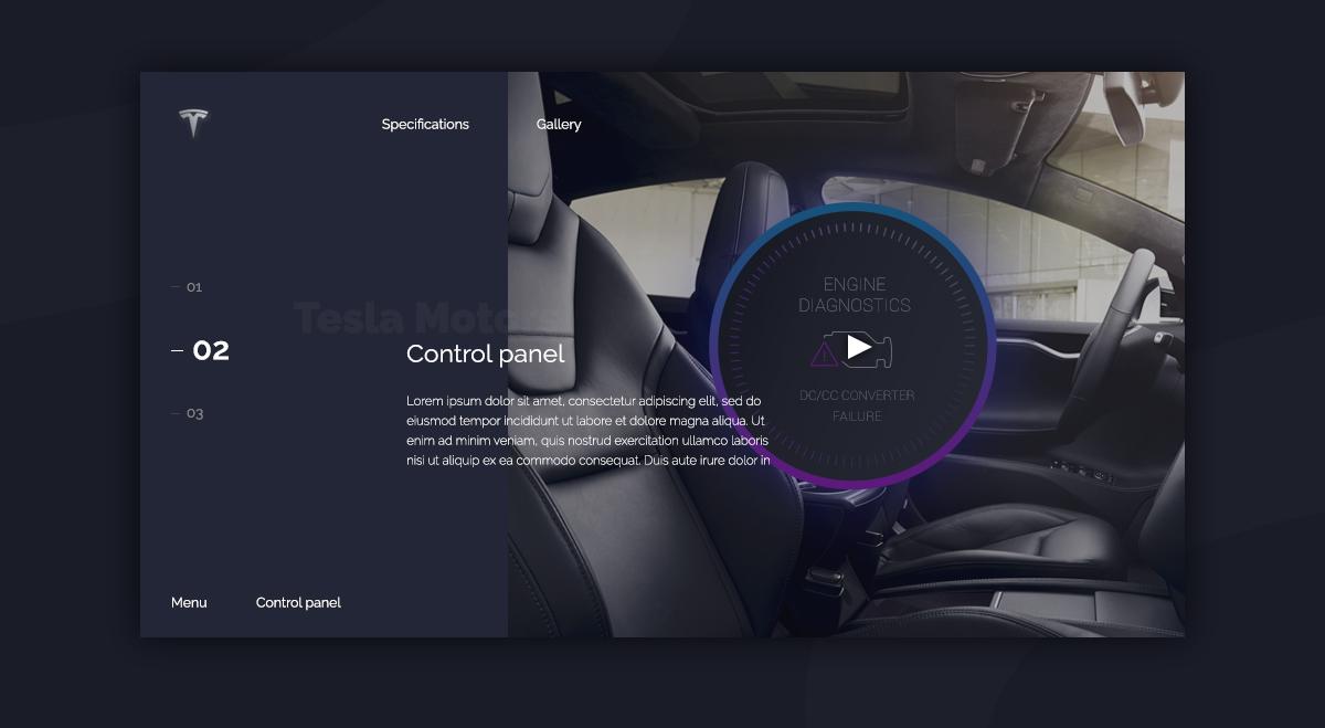 Car Ui Concept Design Development On Behance