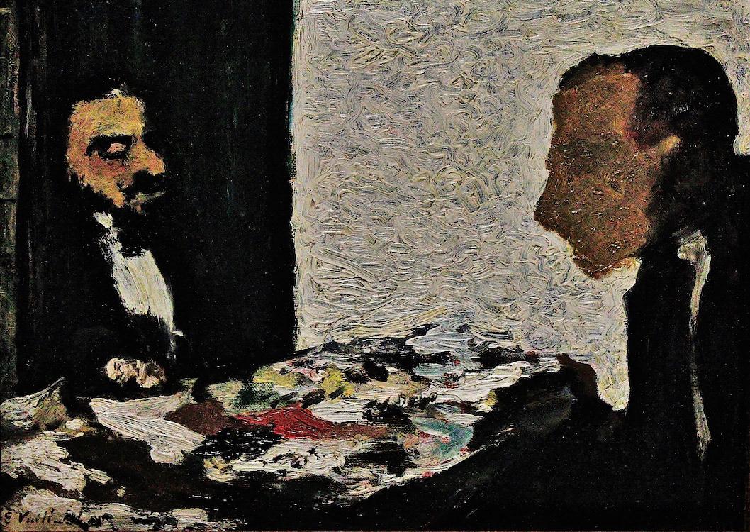 musée d'orsay Edouard Vuillard Marthe Mellot Maurice Denis taches Le Bureau cezanne louis anquetin Foucault Giovanni Boldini