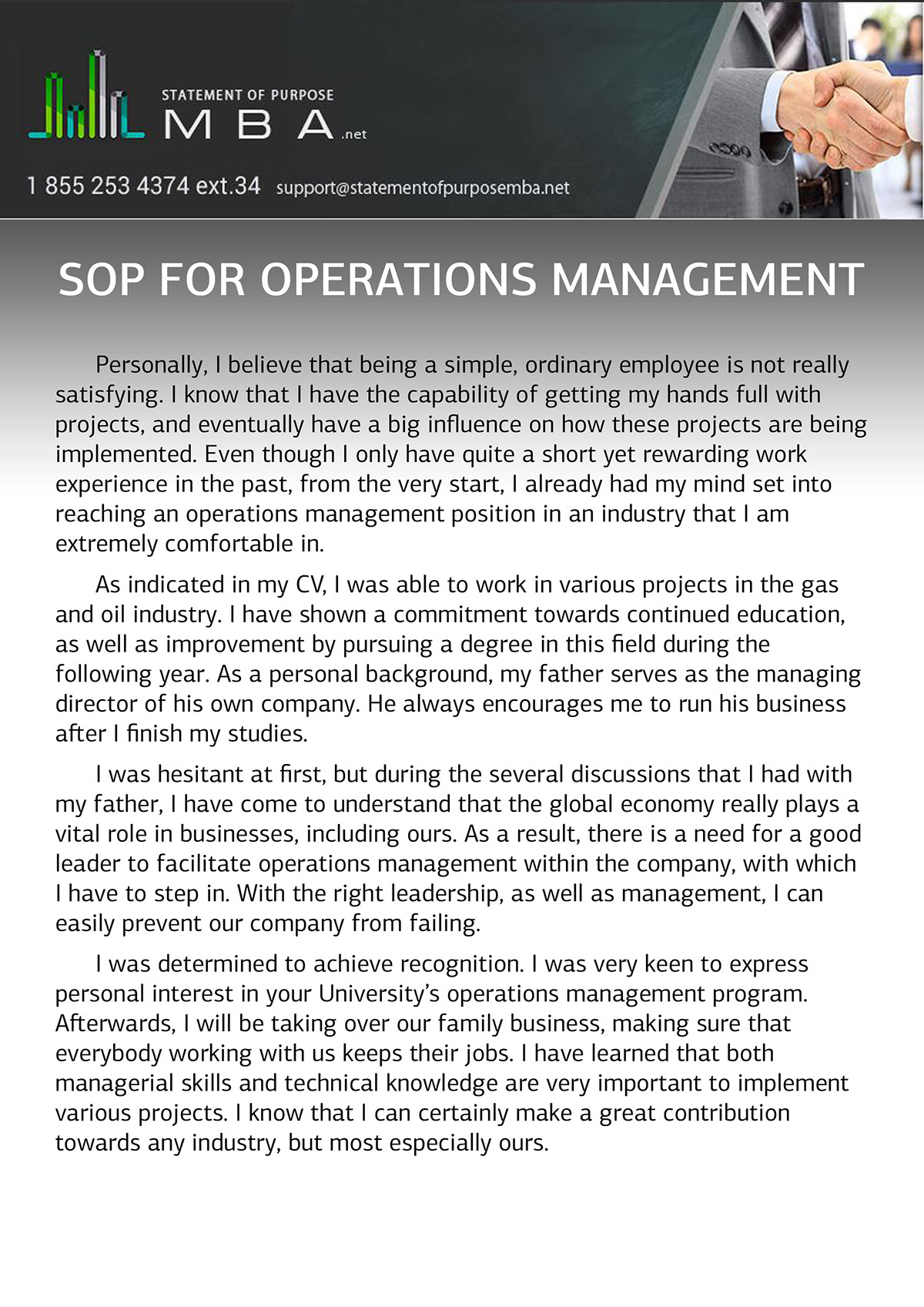 sop for operations management example on behance there are also great tips how to write an operations management sop to learn more or to check our sample
