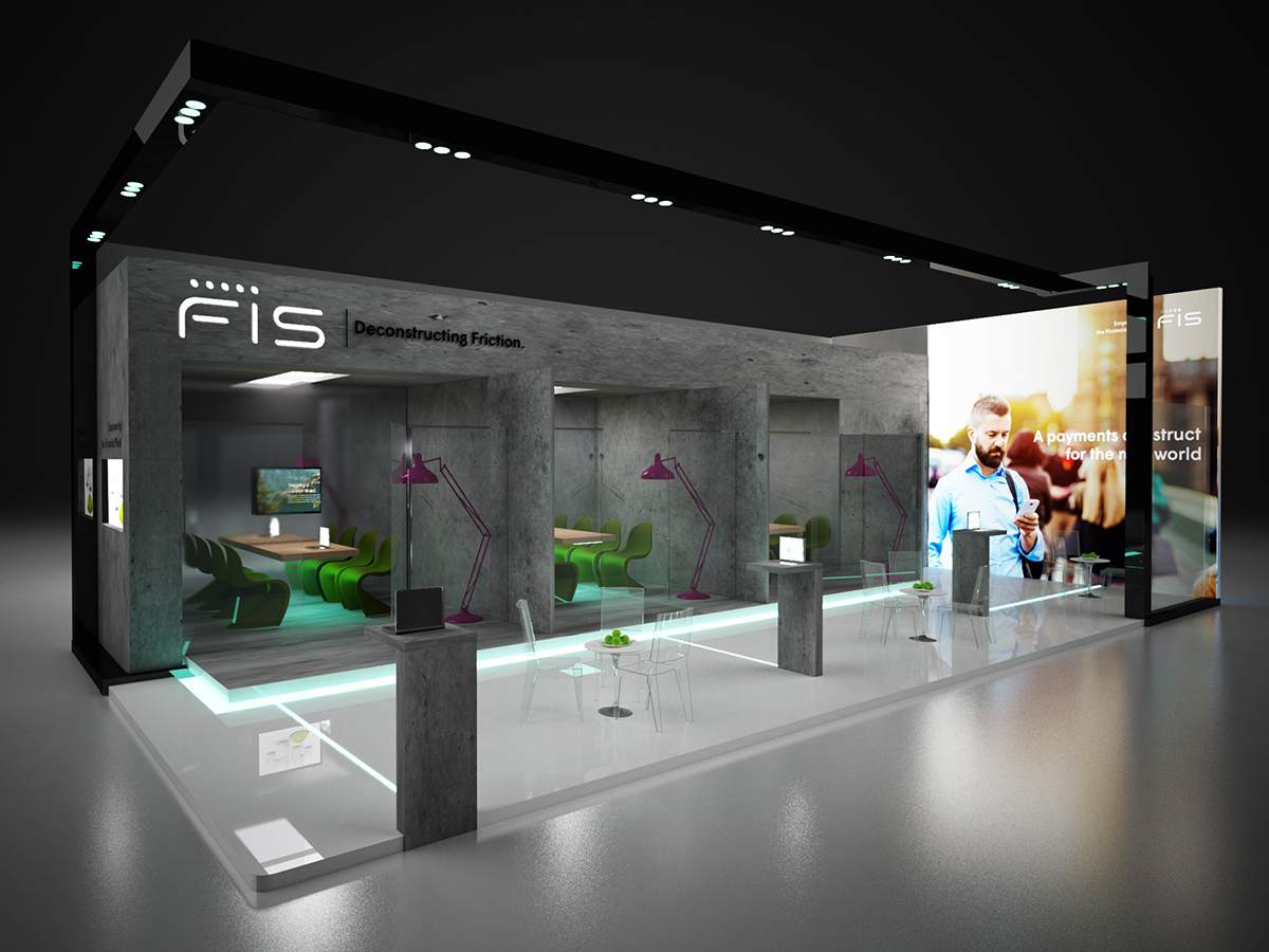 Exhibition Stand Northampton : Fis exhibition stand design process on behance