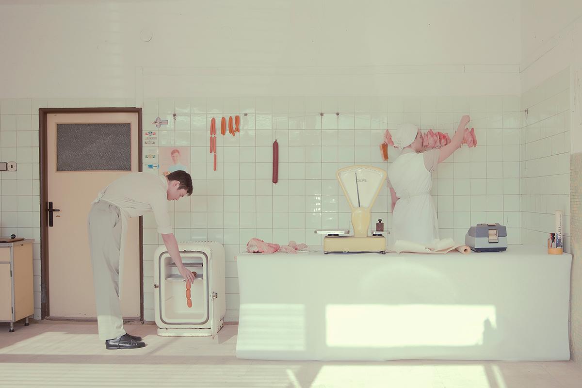 model man woman photo arte psycho child butcher media Project socialism slovakia maria svarbova