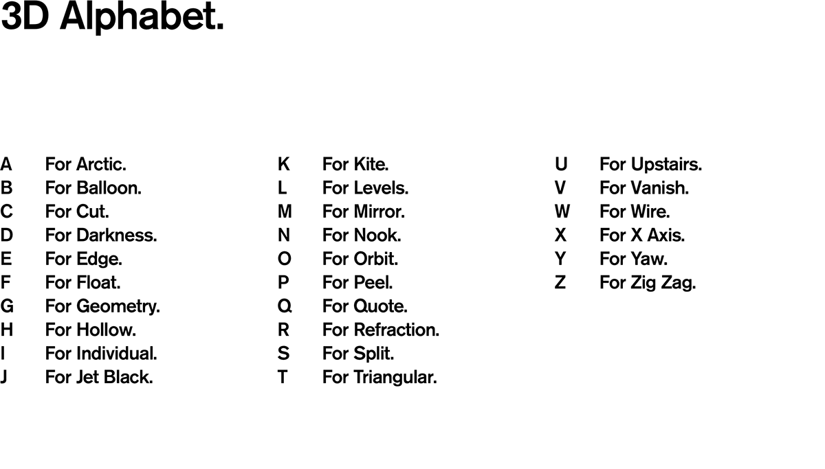 36daysoftype alphabet letters 36daysoftype4 minimal chrome simple Minimalism clean atoz