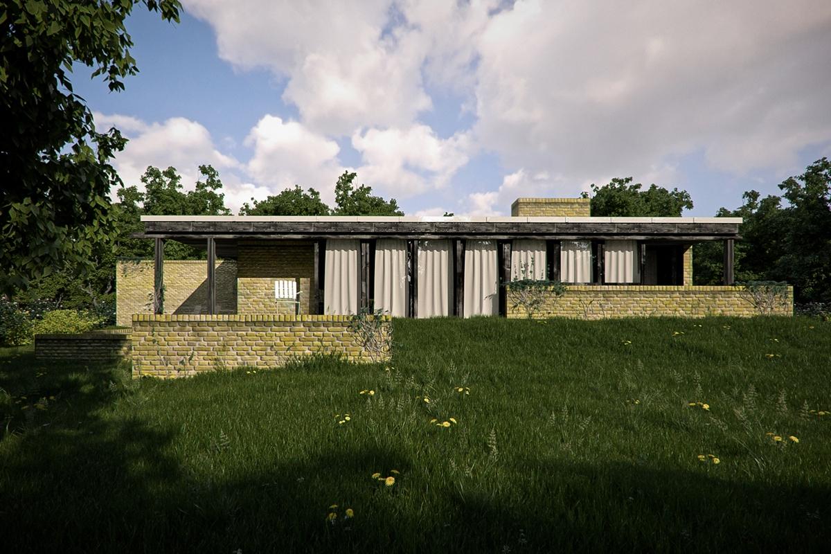 Denmark Interior Design Helleb 230 K House Utzon On Behance