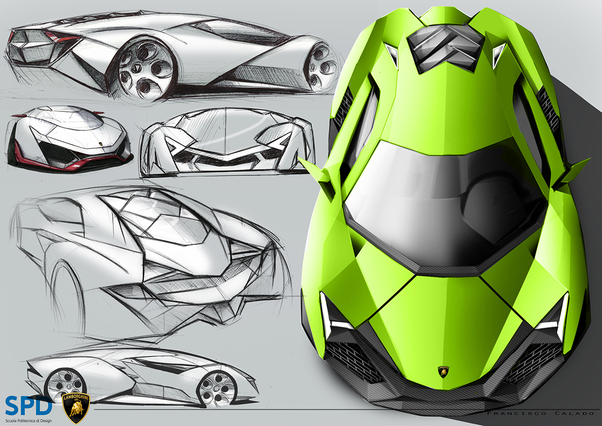 Lamborghini Igreca On Behance