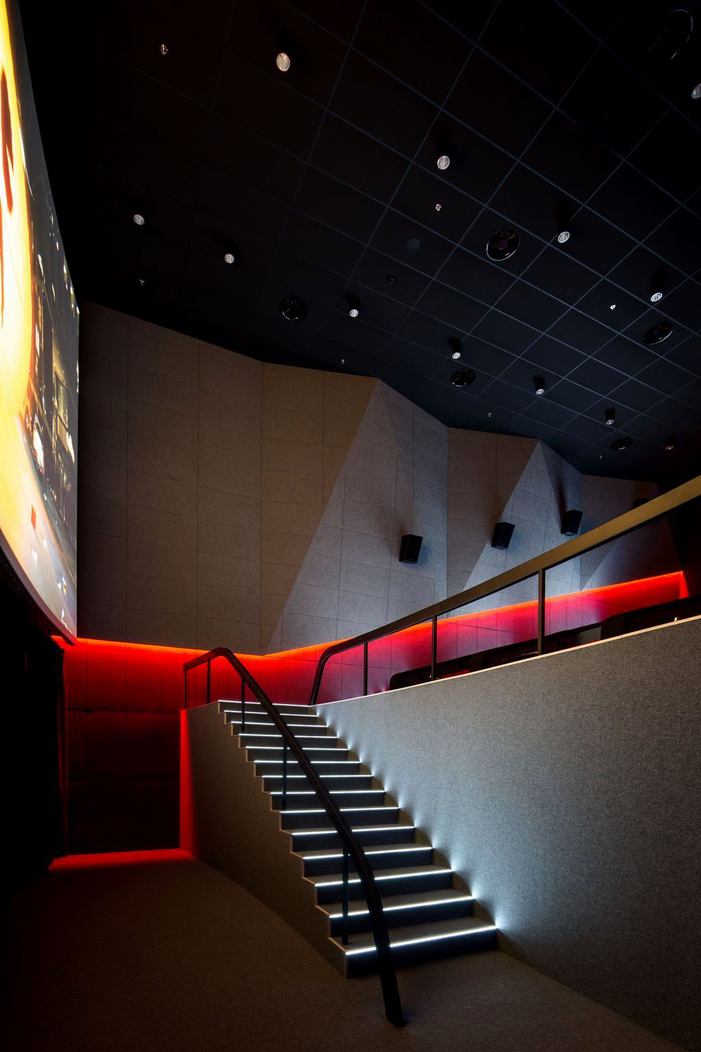 Multiplex Atmocphere Cinema On Behance