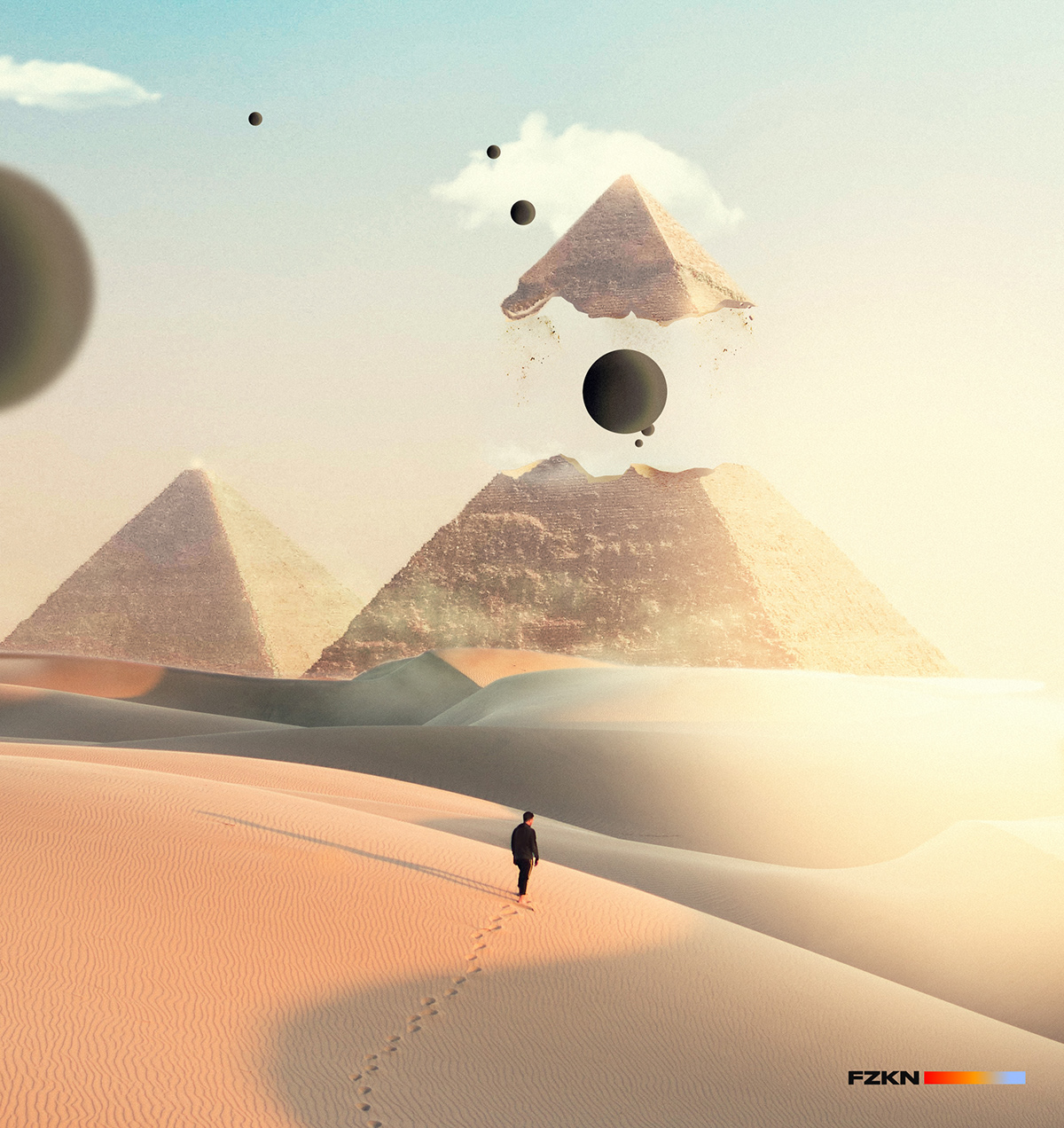 abstract concept art desert digitalart fantasy photomanipulation photoshop photoshopmix surreal