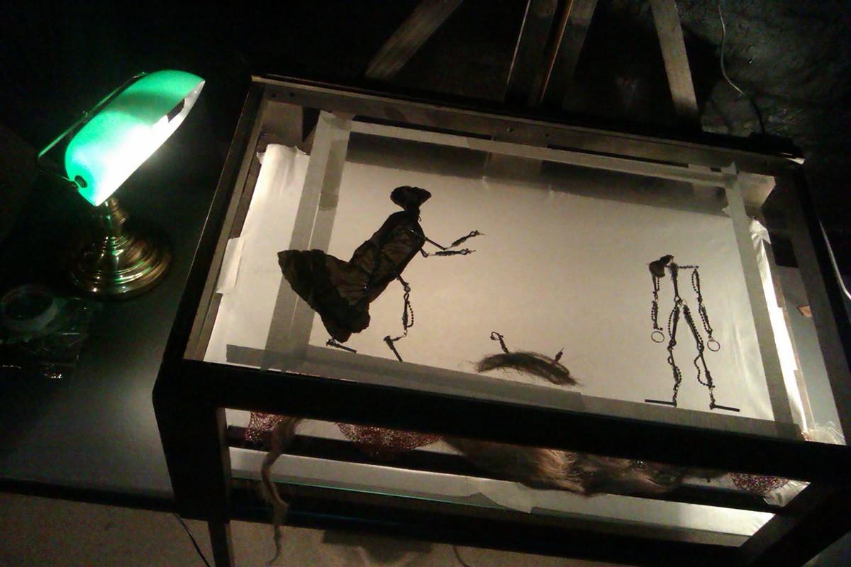 craft models steel sand painting lighting Multi-Plane stop-motion