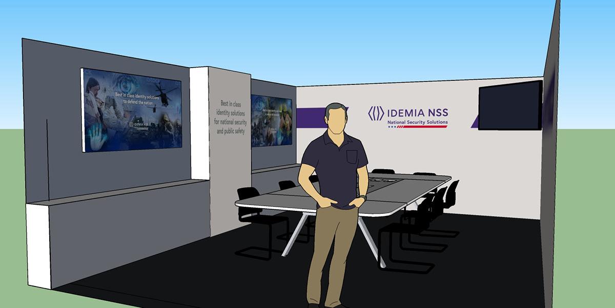 IDEMIA NSS Office on Behance