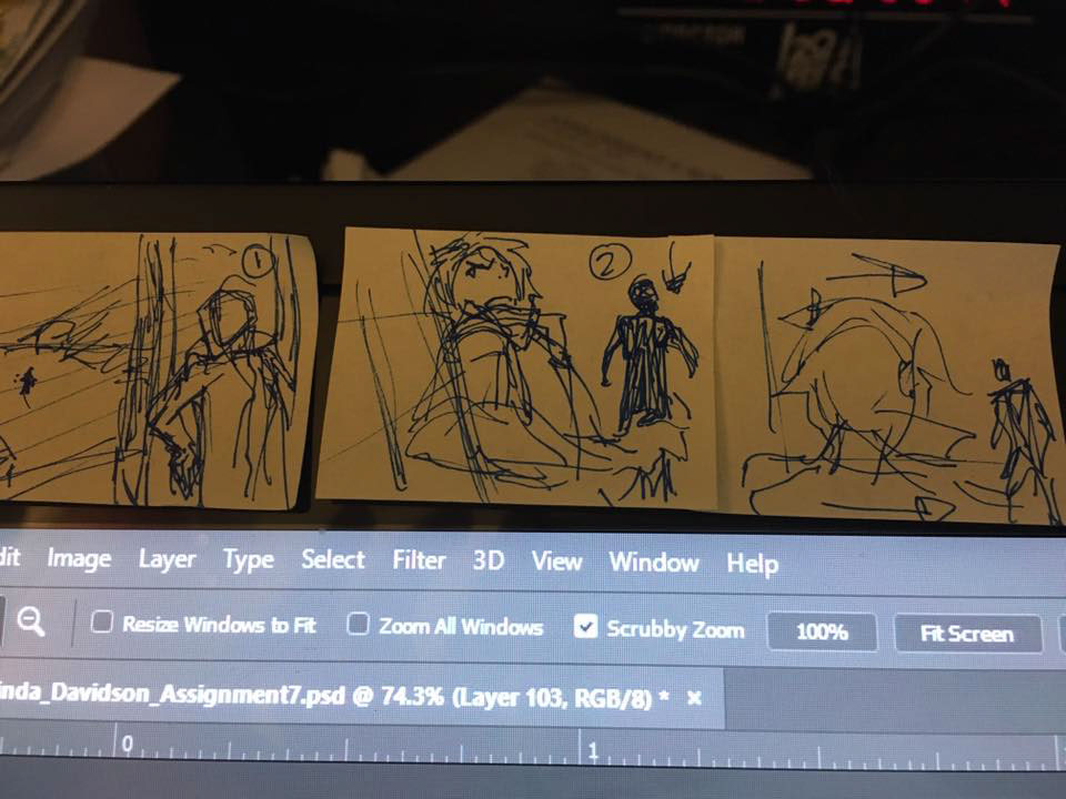 Storyboarding Action! on Behance