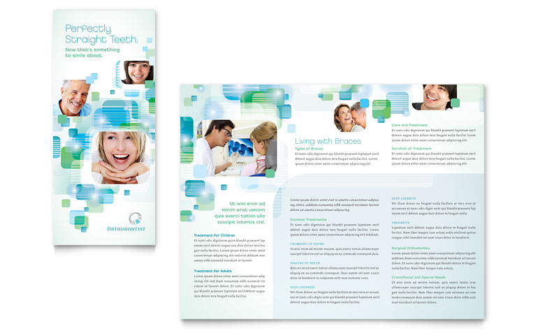Brochure Templates On Behance - Medical office brochure templates