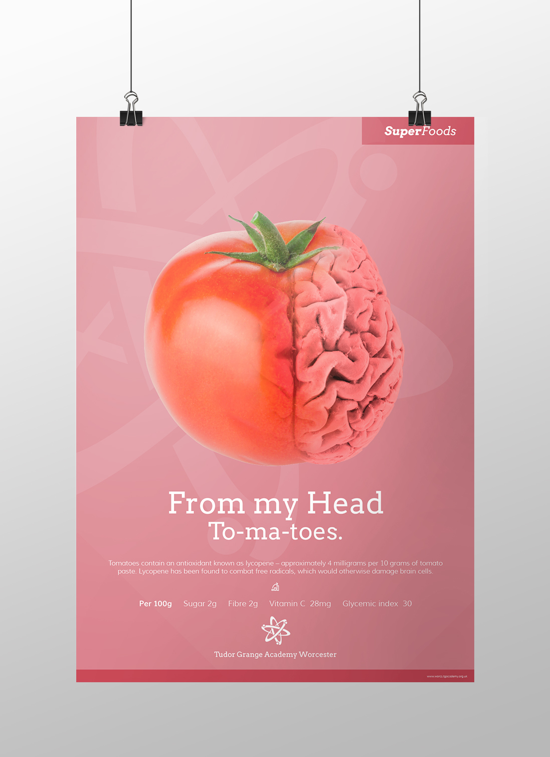 Healthy Eating Posters - Super Foods on Behance